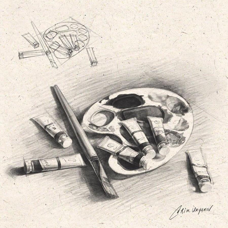 04-Paintbrush-and-paints-Rim-Umyarov-www-designstack-co