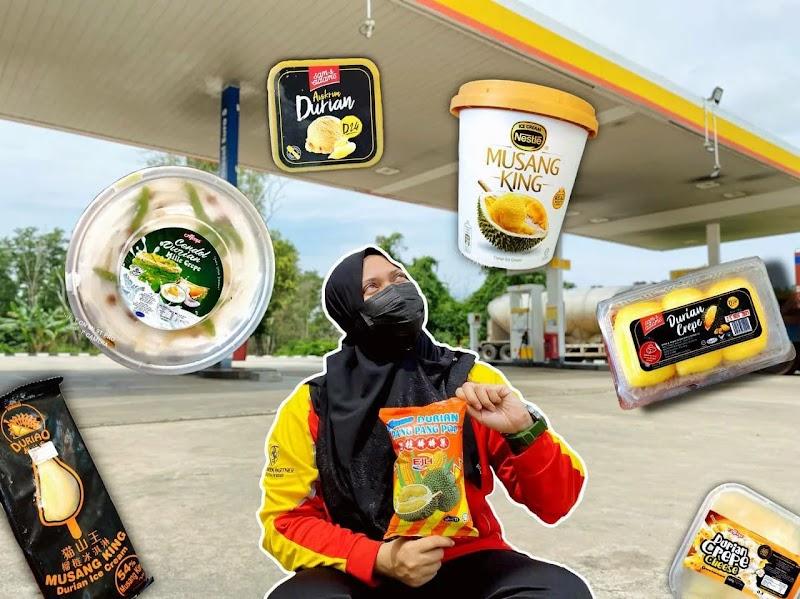 Durian Crepe IKS Di Shell Kerang Kuning | Muzlina.com |