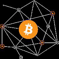 Bitcoin Logo Ağ
