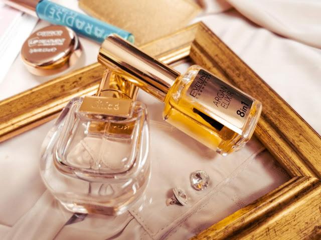 Eveline Cosmetics Argan Elixír je olejček na ošetrenie nechtovej kožtičky