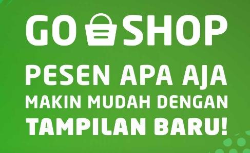 cara menggunakan go shop pada gojek
