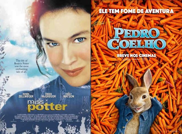 Combo: Miss Potter + Pedro Coelho