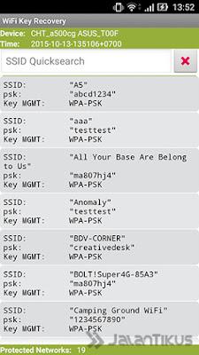 Cara Terbaru Mengetahui Password Wifi