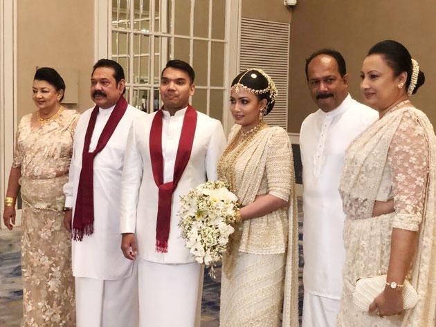 namal-rajapaksha-wedding නාමල් රාජපක්ෂ විවාහවේ