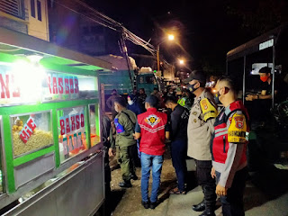 Perketat Protokol Kesehatan, Polres Pelabuhan Makassar gencar lakukan Operasi dan razia