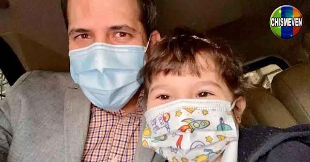 Y NOSOTROS?   Juan Guaidó celebró el día del padre junto a su hija