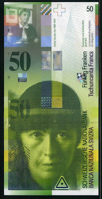 Switzerland  50 Swiss Francs