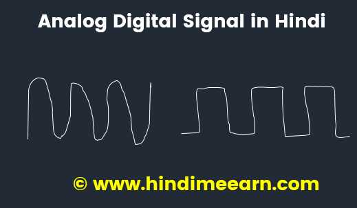 Analog Digital Signal In Hindi