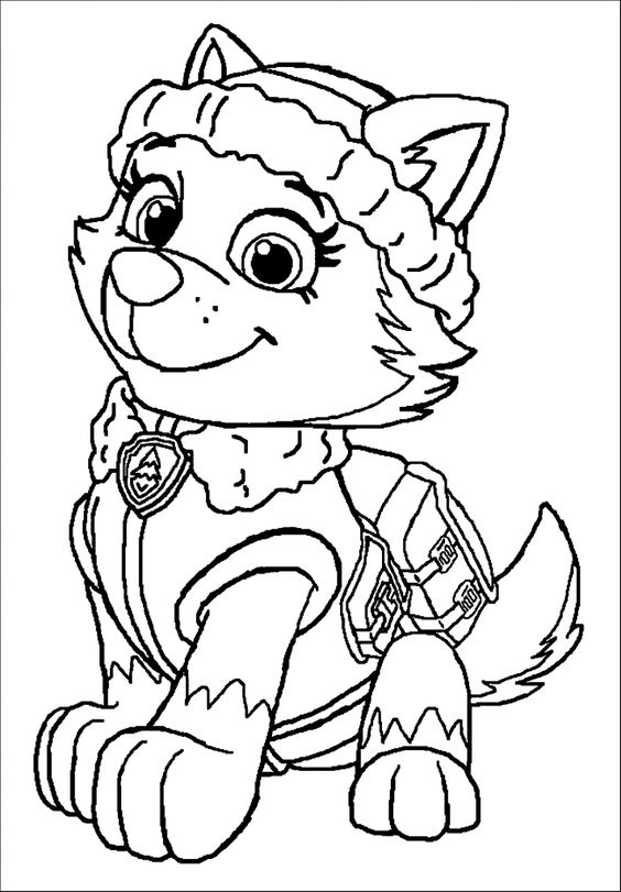 Paw patrol coloring pages 40