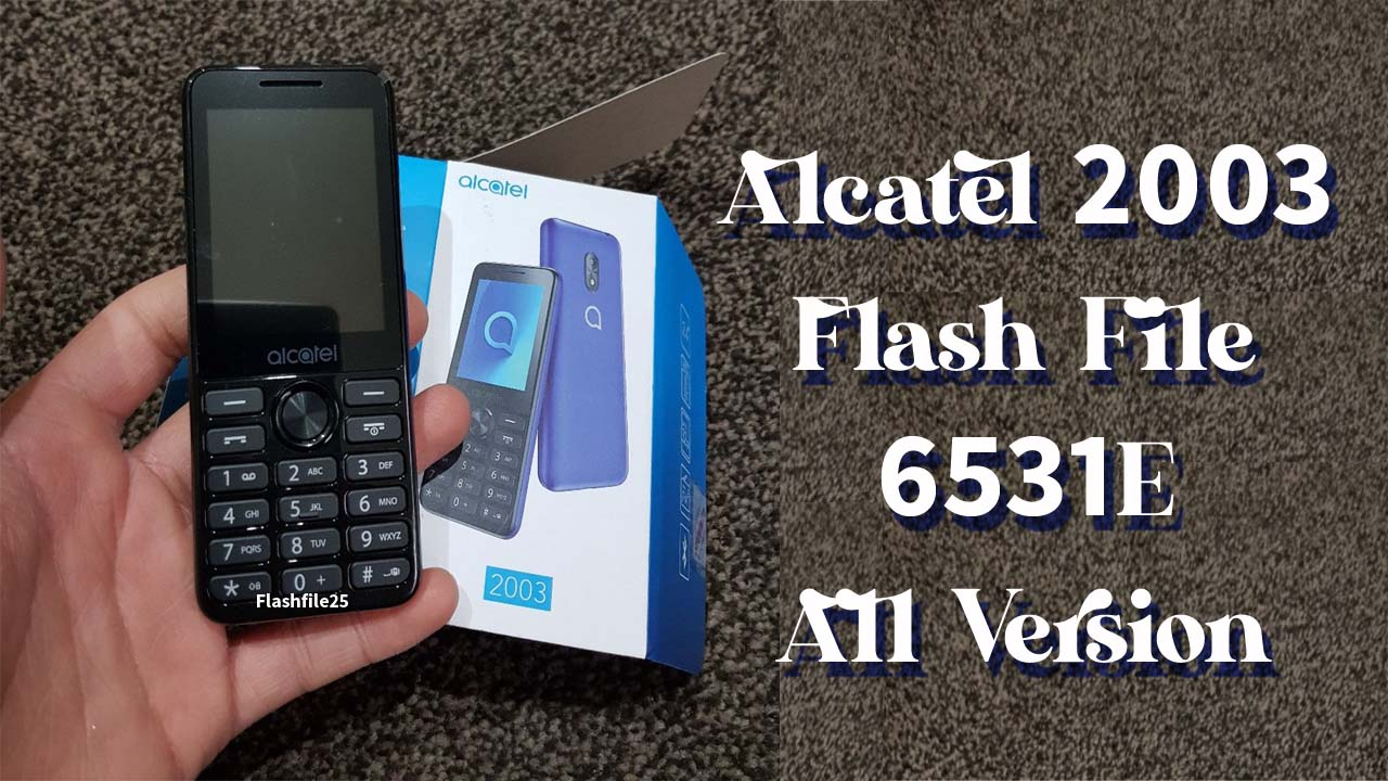 Alcatel 2003 Flash File is a tested bin file for any of the feature phone flashing tools. This file comes in a zip package on your PC/Laptop