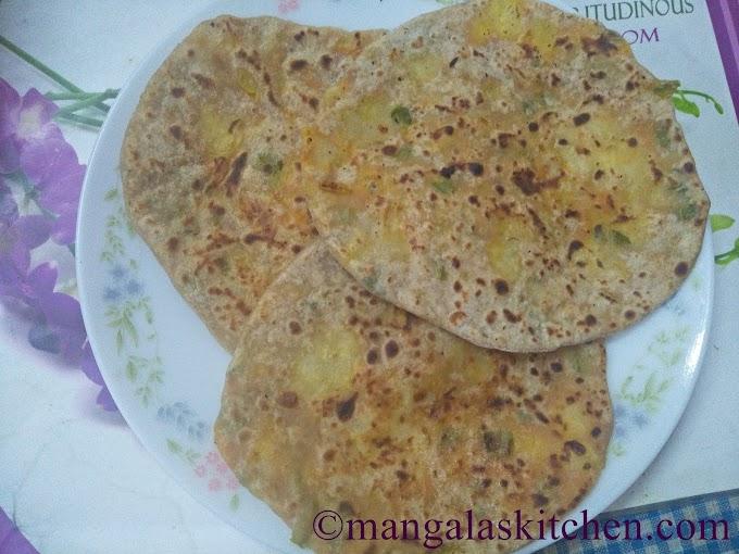 Punjabi Style Mixed Vegetable Paratha | Stuffed Paratha Kids Recipe