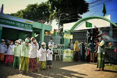 120 Anak Ikuti khitanan Umum 2020 Lazisnu Kota Pasuruan