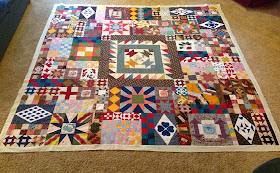 Happy Scrappy Orphan Block Of The Month Quilt Out Of