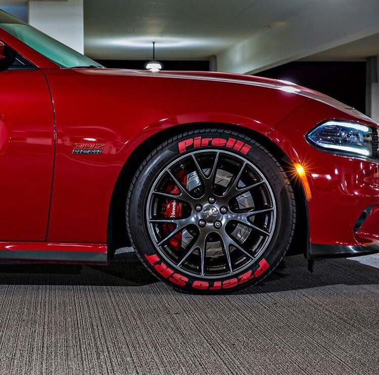 Bright 2016 Redline SRT Charger