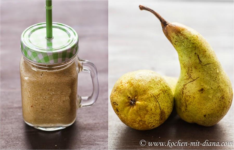 Apfel-Birnen-Bananen Smoothie