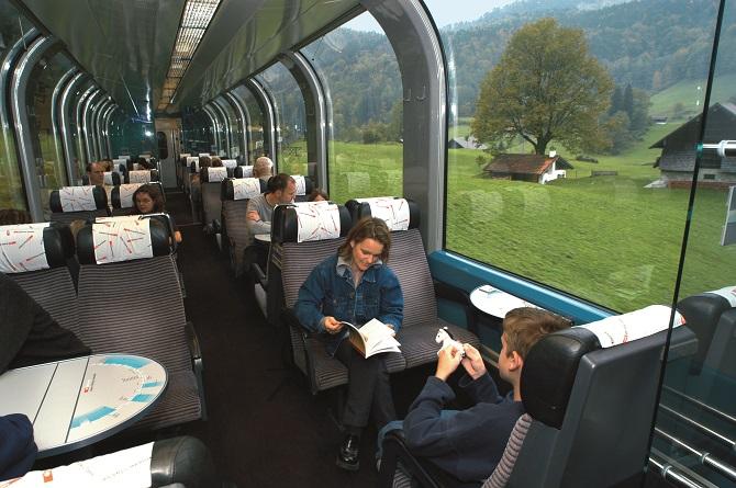 Viajando de trem - melhores meios de transporte para sua viagem