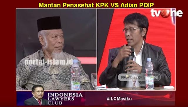 """Bantah PDIP, Abdullah Hehamahua: Meski """"Cuma 900 Juta"""" Kasus Ini BESAR Karena Terkait KPU, Yang Menentukan Nasib 5 Tahun Indonesia !!"""