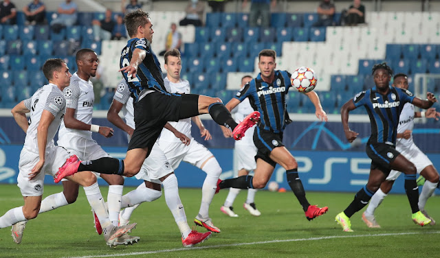 ملخص هدف فوز اتالانتا علي يونج بويز (1-0) دوري ابطال اوروبا