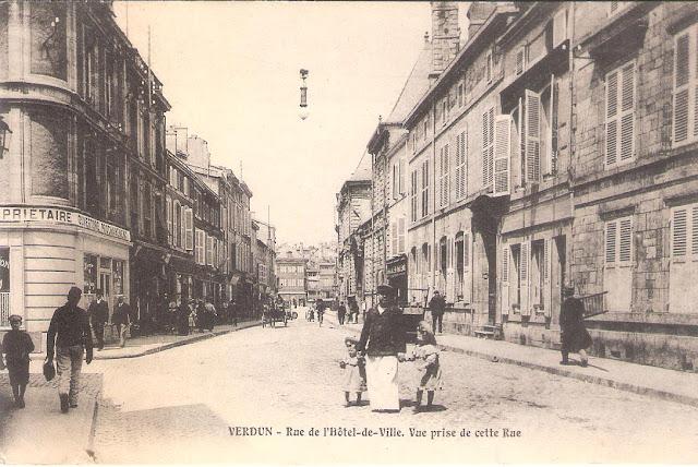 Verdun, rue Poincaré