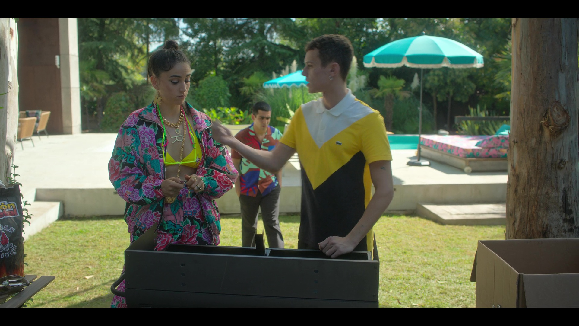 Élite historias breves: Omar Ander Alexis (2021) Temporada 1 1080p WEB-DL Latino