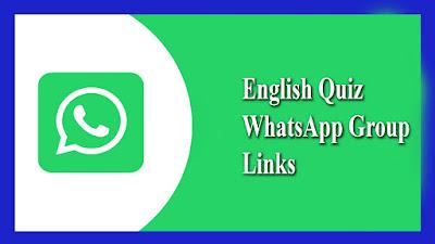 English Quiz WhatsApp Group Links