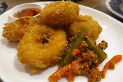 Soi Thai Soi Nice, prawn cakes