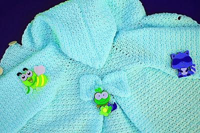 6 - Crochet Imagen Capucha de abrigo rosa por Majovel Crochet
