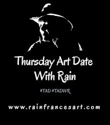 Rain's Thursday Art Date