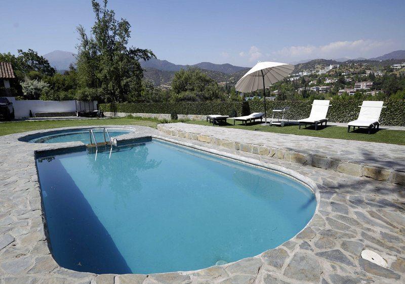 La piscina de la casa también paga contribuciones