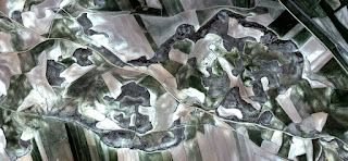 Abstract Naturalism, Spain fields from the air, abstract expressionist photography,abstract surrealism, artistic representation of human labor camps