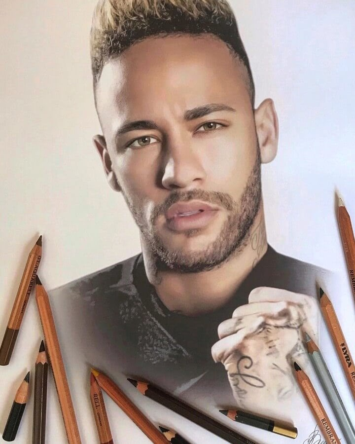12-Neymar-Jr-Alena-Litvinova-Realistic-Portraits-www-designstack-co