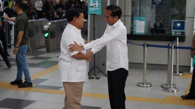 Alasan Jokowi-Prabowo Pilih Bertemu di MRT
