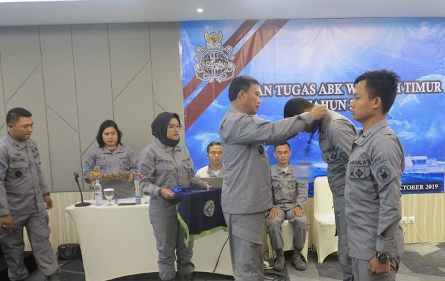 Exercise on the Role and Tasks of State Vessels ABK in the Eastern Maritime Zone Region