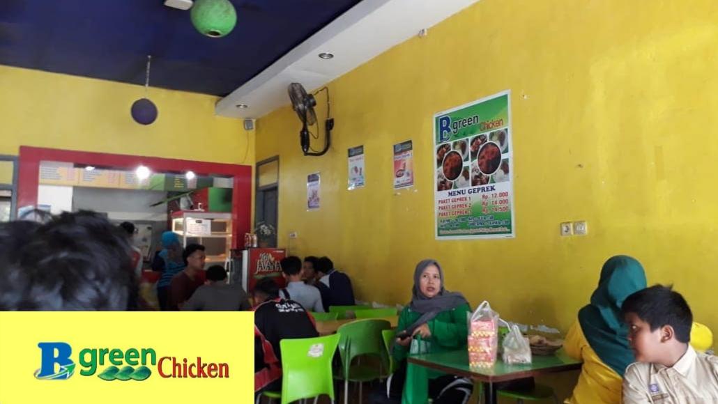 LOWONGAN KERJA Store Bgreen Chicken, Persyaratan