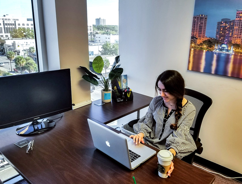 В офісі HIS Capital Group