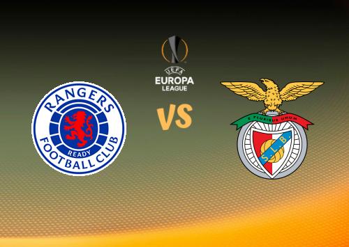 Glasgow Rangers vs Benfica  Resumen