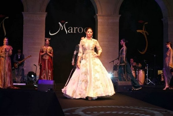 THE VIEW FROM FEZ: Moroccan Caftans in Paris Fashion Show