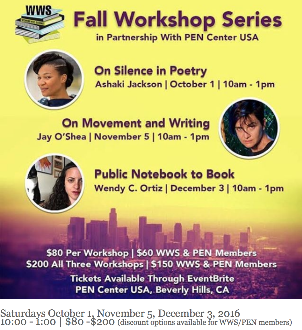 Women Who Submit Fall Workshop Series