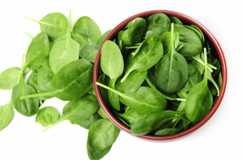 Benefits of spinach for hair, diet and digestion