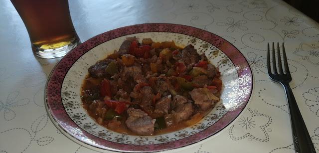 Solomillo A La Búlgara