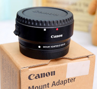 Adapter Canon EF  - EOS M 2nd