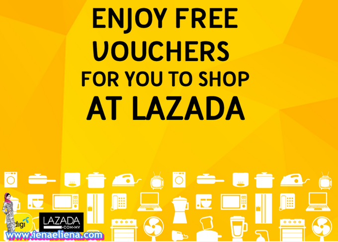 RM50 Lazada Free Voucher