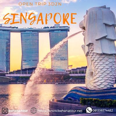 opentrip singapore Bahanatour