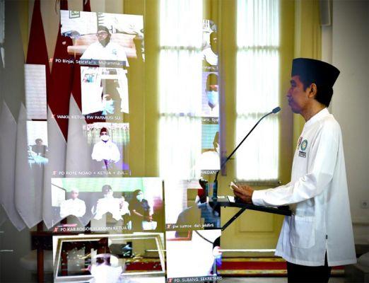 Pandemi di RI Kian Menjadi-jadi, Jokowi Minta Masyarakat Taubat