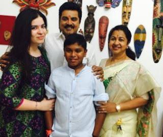 R Sarathkumar  Family Wife Parents children's Marriage Photos