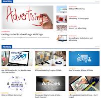 Newspeed Premium Blogger Template Original Version
