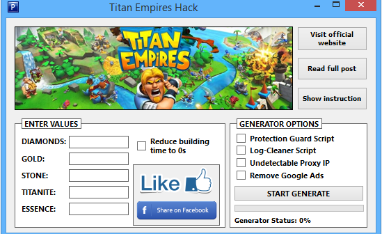 Titan Empires Hack Apk iOS Android (Free Download)