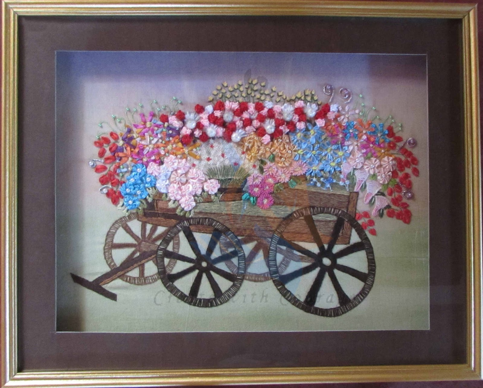 34ba0f56bff3 paper quilling flower cart - Barca.selphee.co