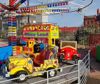 Dizzy Land ride in Rhyl