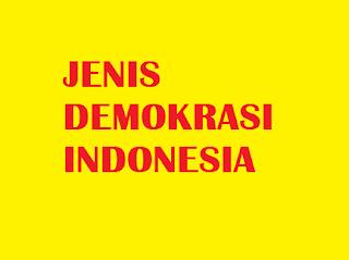SISTEM DEMOKRASI DI INDONESIA DARI TAHUN 1945